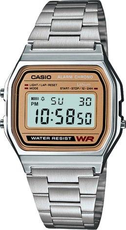 CASIO - Retro A 158A-9 + dárek zdarma