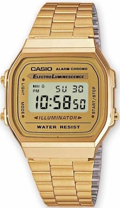 CASIO - Retro A 168G-9 + dárek zdarma
