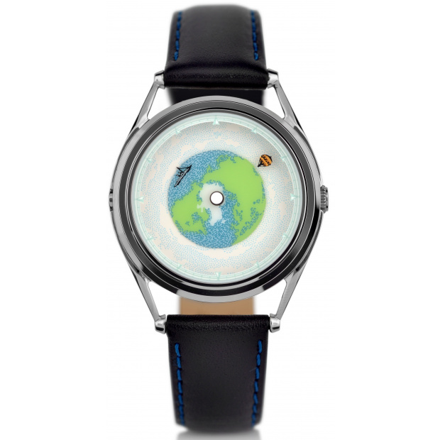 Hodinky MR JONES WATCHES Tour Du Monde