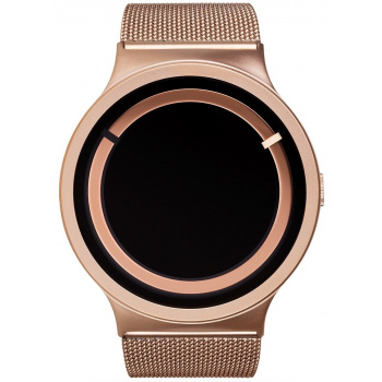 ZIIIRO Eclipse Steel Rose Gold