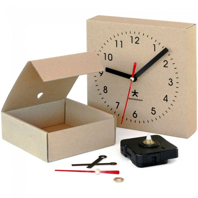 KIBARDINDESIGN Clock Box - small + dárek zdarma