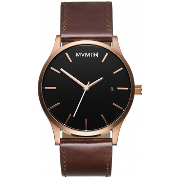 MVMT CLASSIC SERIES - 45 MM ROSE GOLD BROWN