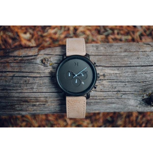 Hodinky MVMT CHRONO SERIES - 45 MM GUNMETAL SANDSTONE MC01-GML