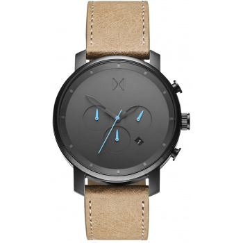 MVMT CHRONO GUN METAL / SANDSTONE LEATHER