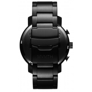 Hodinky MVMT CHRONO SERIES - 45 MM BLACK LINK MC01-BB