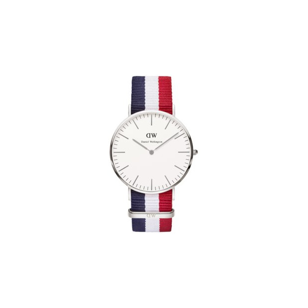 Hodinky DANIEL WELLINGTON Classic Cambridge Silver