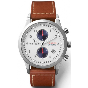 TRIWA Duke Lansen Chrono - Brown Sewn Classic 2