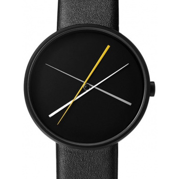 PROJECT WATCHES Crossover Black / Black Leather