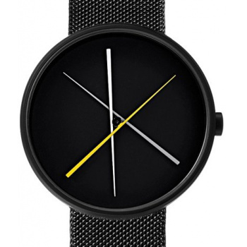 PROJECT WATCHES Crossover BLACK/Metal Mesh