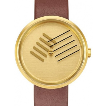 PROJECT WATCHES On the Right Track / Brass Color / Stainless Steel