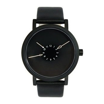 PROJECT WATCHES Nadir Watch / Black / Leather