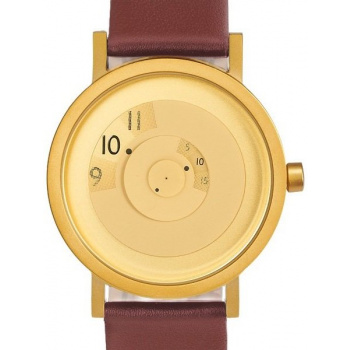 PROJECT WATCHES Reveal BRASS / Brown / Leather