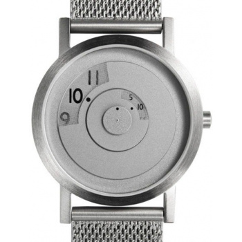 PROJECT WATCHES Steel Reveal Watch Sleek and Modern / Metal Mesh - 33mm