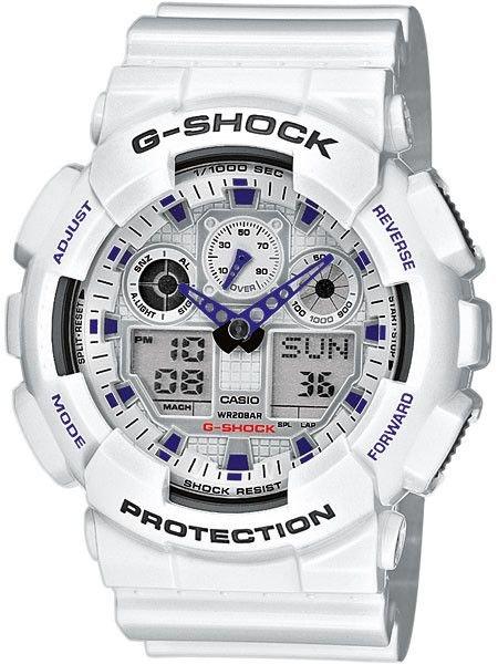CASIO G-Shock GA 100A-7A + dárek zdarma