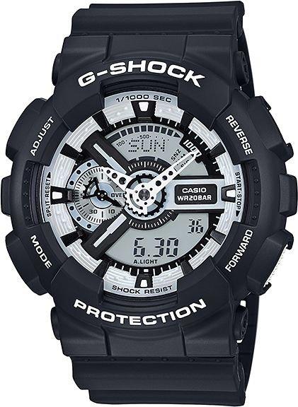 CASIO G-Shock GA 110BW-1A + dárek zdarma