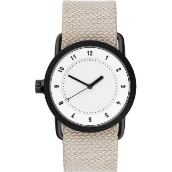 TID Watches No.1 36 White / Sand Twain Wristband