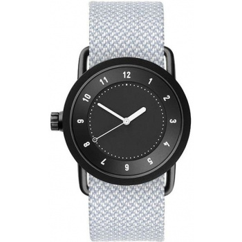 TID Watches No.1 36 Black / Mineral Twain Wristband