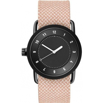 TID Watches No.1 36 Black / Salmon Twain Wristband