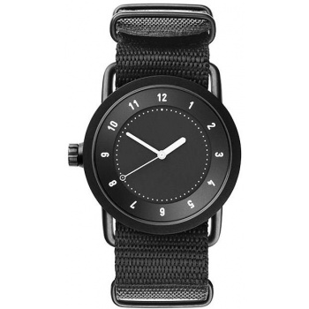 TID Watches No.1 36 Black / Nylon Wristband