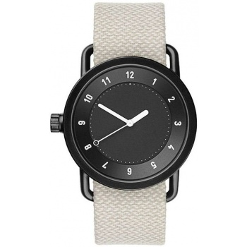 TID Watches No.1 Black / Sand Twain Wristband