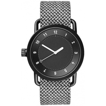 TID Watches No.1 Black / Granite Twain Wristband