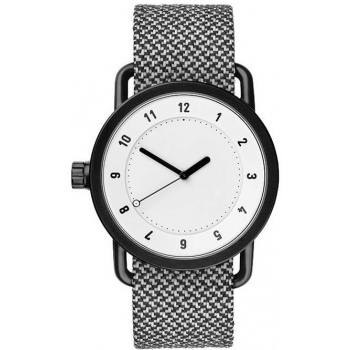 TID Watches No.1 White / Granite Twain Wristband