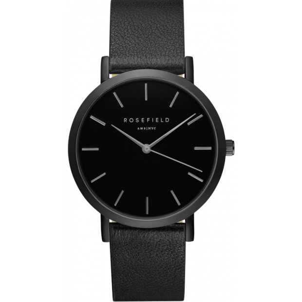 Hodinky ROSEFIELD THE GRAMERCY BLACK / BLACK 38 MM