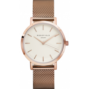 ROSEFIELD The Mercer White - Rose Gold