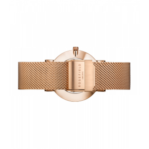 Hodinky ROSEFIELD THE MERCER WHITE ROSE GOLD / 38 MM