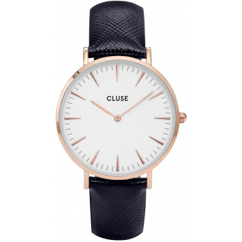 CLUSE LA BOHÈME ROSE GOLD WHITE/MIDNIGHT BLUE