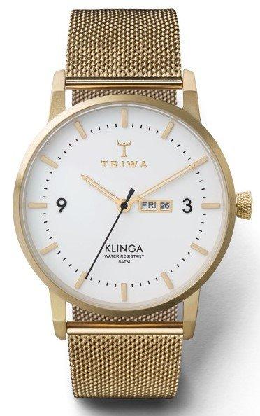 TRIWA IVORY KLINGA GOLD MESH CLASSIC + dárek zdarma