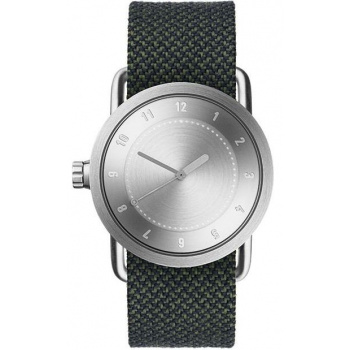 TID Watches No.1 36 Steel / Pine Twain Wristband