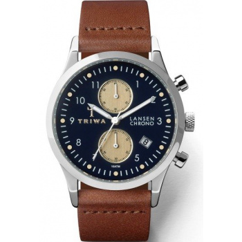 TRIWA Pacific Lansen Chrono - Brown Classic