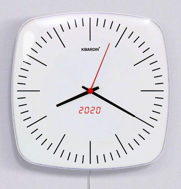 KIBARDINDESIGN CLASSIC DUET CLOCK CDC-D3 + dárek zdarma