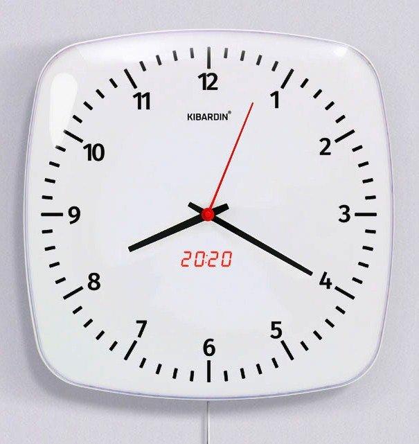 KIBARDINDESIGN CLASSIC DUET CLOCK CDC-D1 + dárek zdarma