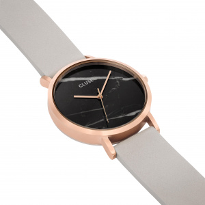 Hodinky CLUSE LA ROCHE ROSE GOLD BLACK MARBLE/GREY