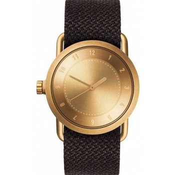 TID Watches No.1 36 Gold / Mud Twain Wristband