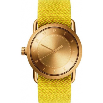 TID Watches No.1 36 Gold / Dawn Twain Wristband