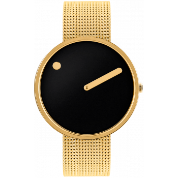 PICTO BLACK/POLISHED GOLD 43387-0920