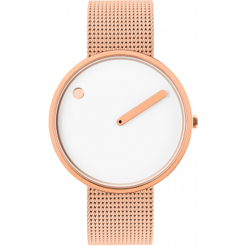 PICTO WHITE/POLISHED ROSE GOLD 43383-1120