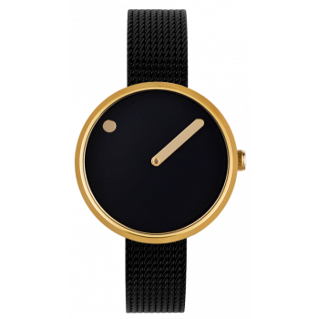 PICTO BLACK/POLISHED GOLD 43385-1012