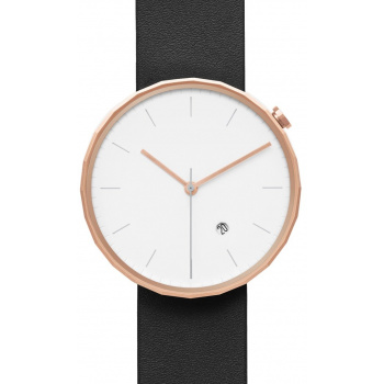 CHI & CHI POLYGON WATCH PG02 Rose Gold / Black