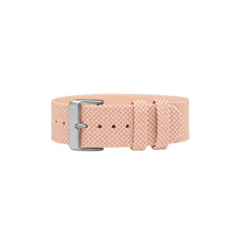 TID Watches Salmon/Silver Twain Wristband