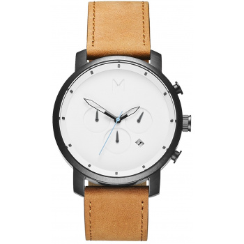 MVMT CHRONO SERIES - 45 MM CHRONO WHITE BLACK TAN