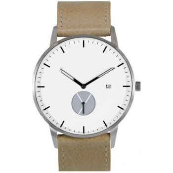 WHY WATCHES Signature Model 1 - Silver/Tan