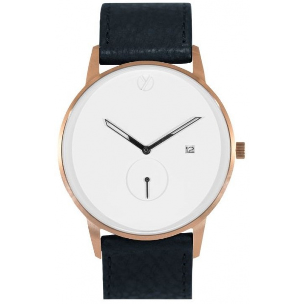 Hodinky WHY WATCHES Modernist Model 1 - Rose Gold / Black