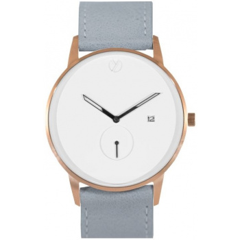 WHY WATCHES Modernist Model 1 - Rose Gold / Grey