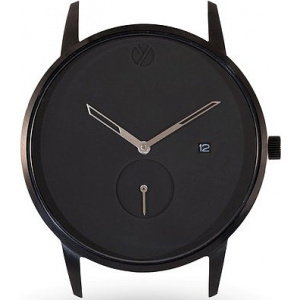Hodinky WHY WATCHES Modernist Model 2 - Black / Tan