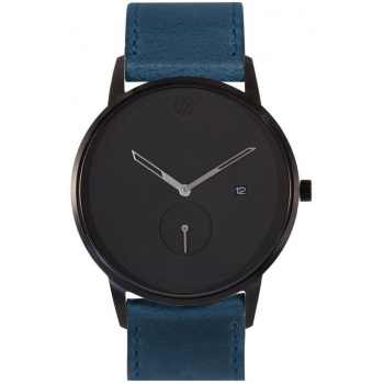 WHY WATCHES Modernist Model 2 - Black / Navy Blue