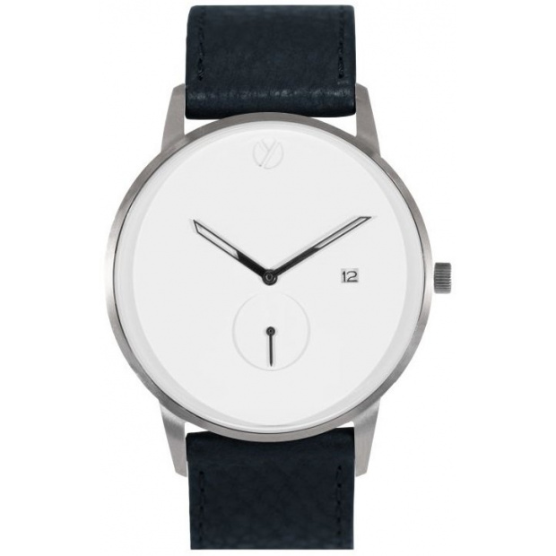 Hodinky WHY WATCHES Modernist Model 3 - Silver / Black